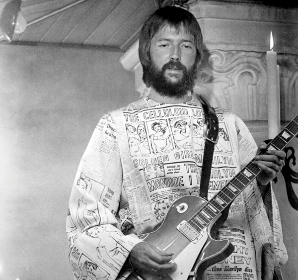 Eric Clapton in the movie Tommy