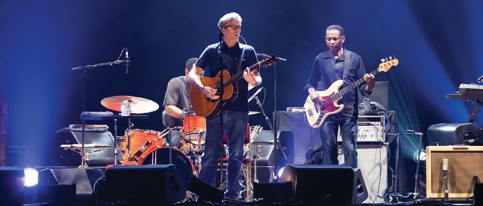 Eric Clapton live in Dubai