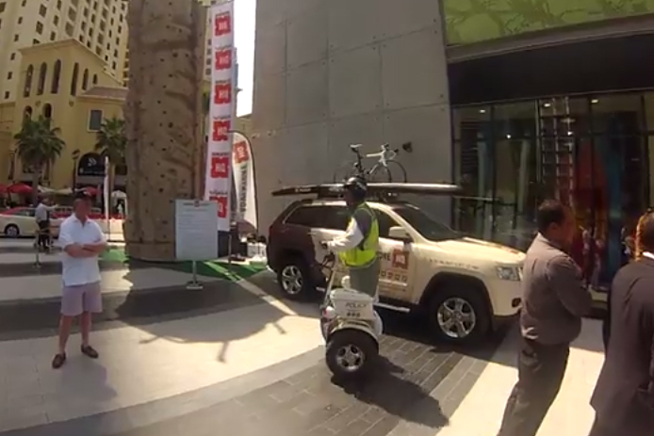 Dubai Police uses Zippi on JBR (picture: 7Days)