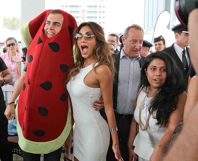 Nicole Scherzinger at Taste of Dubai