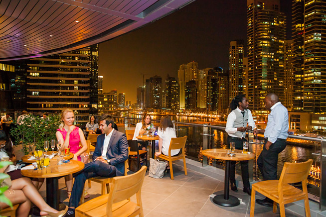 Cargo, Dubai Marina, launch party