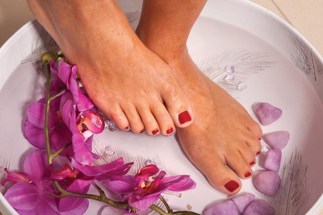 Manicure spa treatment