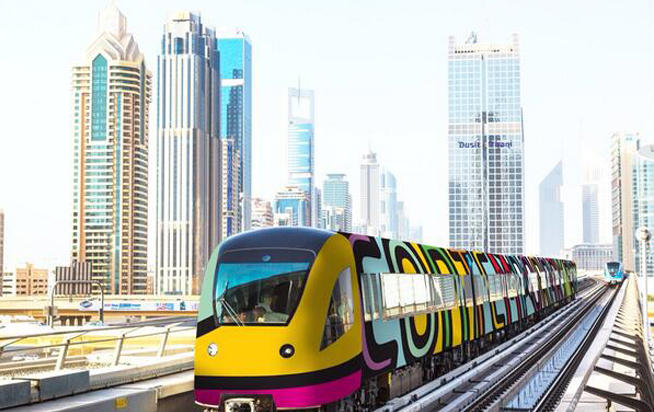 Dubai Metro to get art makeover