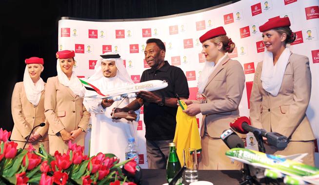 Pele in Dubai