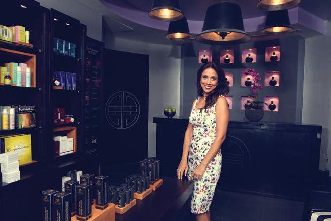 Salina Handa at SensAsia Urban Spas