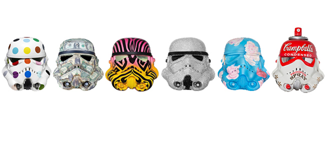 Stormtrooper helmet art work to go on show in Dubai