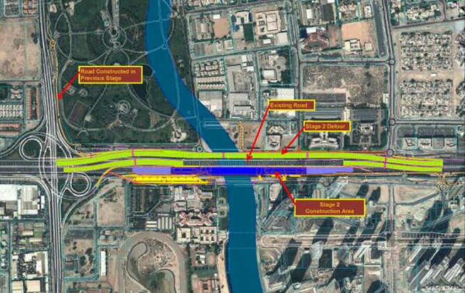 Dubai Canal diversion plans