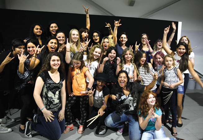 Rock Camp for girls