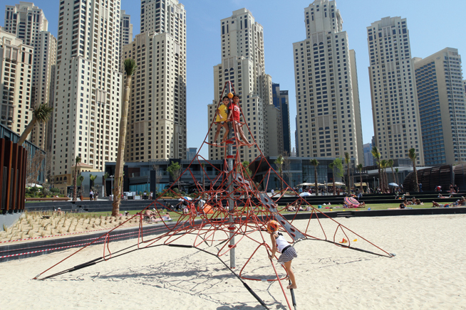 The Beach playground
