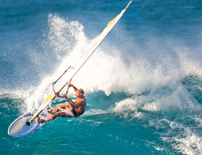 Windsurfing in Dubai