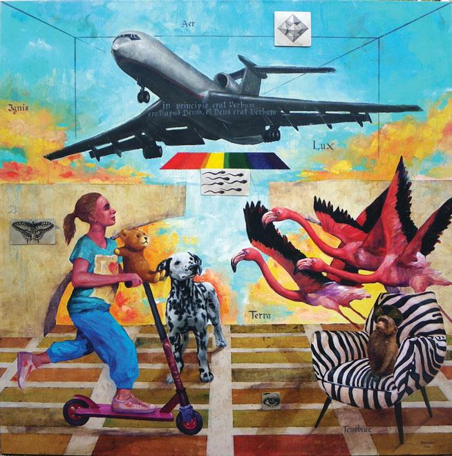 Art in Dubai: Announciations by Aleksander Bezinovic