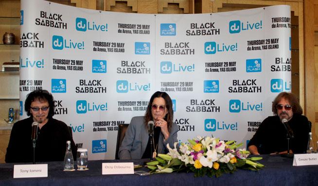 Black Sabbath in the UAE