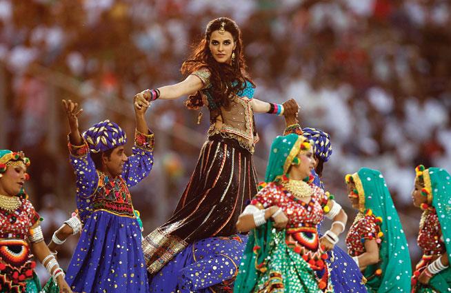 Bollywood dancing - classes in Dubai