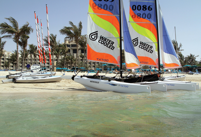 Club Joumana best beach clubs in Dubai