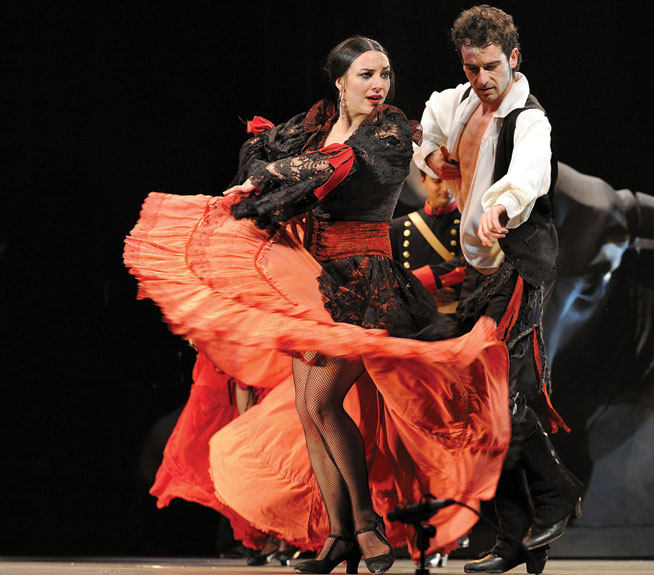 Flamenco dancing - classes in Dubai