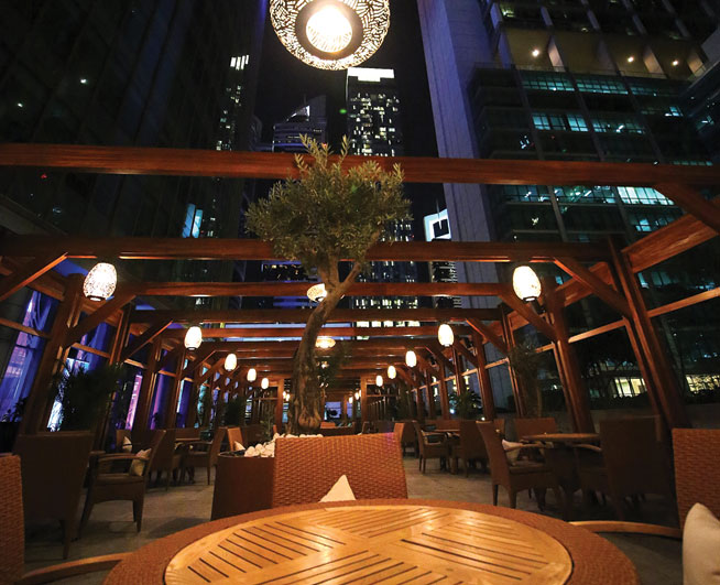 Nay Restaurant, Emirates Towers