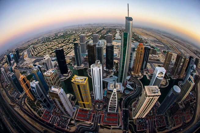 Pictures of Dubai - Dubai Marina and JLT