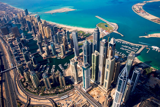 Pictures of Dubai - Dubai Marina and JLT