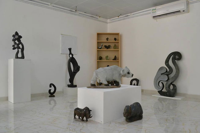 Zimbabwe Shona Stone Sculpture Exhibition in Al Reef