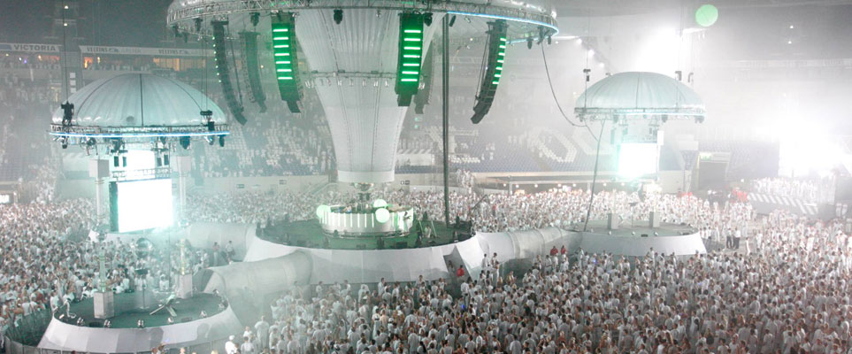 Sensation party in Dubai