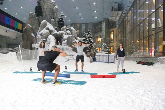 Ski Dubai Snow Robics Classes What S On