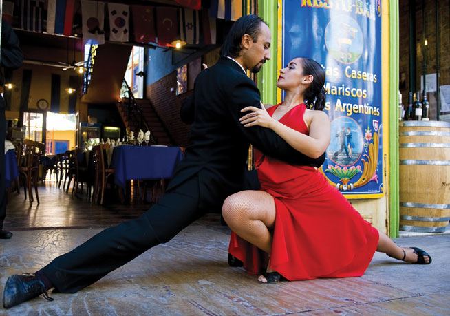 Tango dancing - classes in Dubai