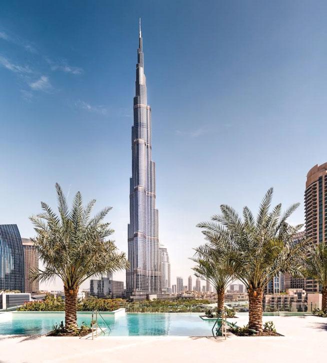 Above at Sofitel - best view in Dubai?