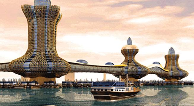 Aladdin City, Dubai Creek