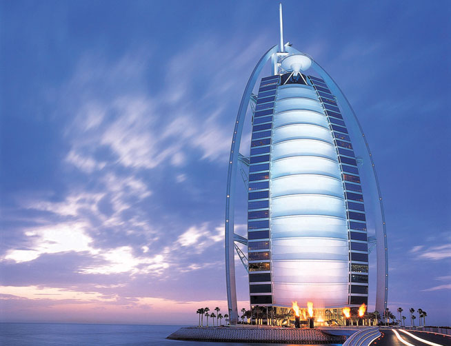 Burj Al Arab - win a night stay