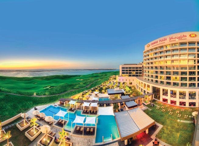 Crowne Plaza, Yas Island, Abu Dhabi