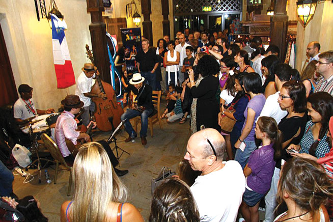 La Fete de la Musique at Madinat for World Music Day