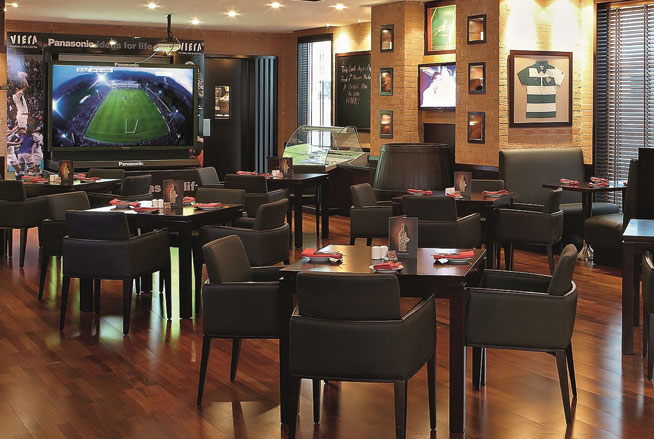 Huddle, Bur Dubai - where to watch the World Cup