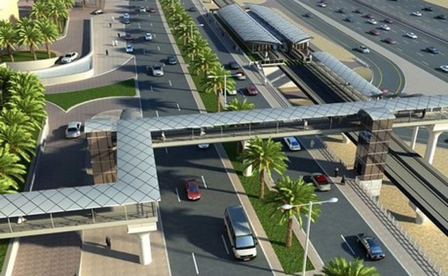 Ten new footbridges will be built in Dubai