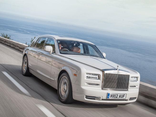 Rolls-Royce chauffeur