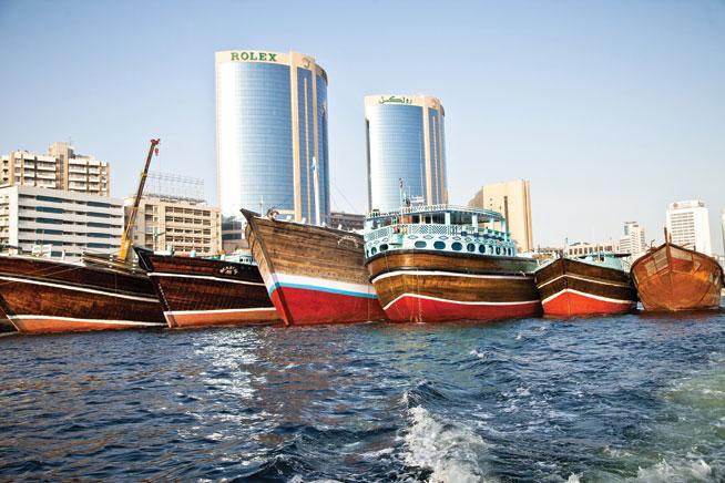 Abra at Dubai Creek