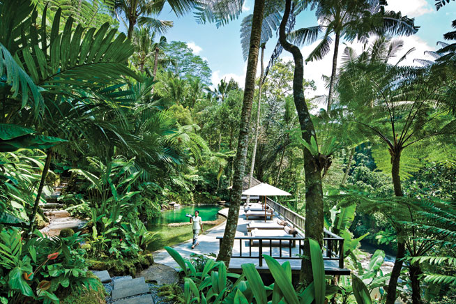 Como Shambhala Estate, Bali, Indonesia - healthy holidays