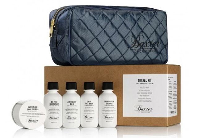 Baxter's of California men's grooming kit