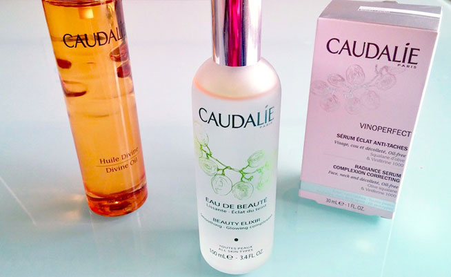 Caudalie skincare products