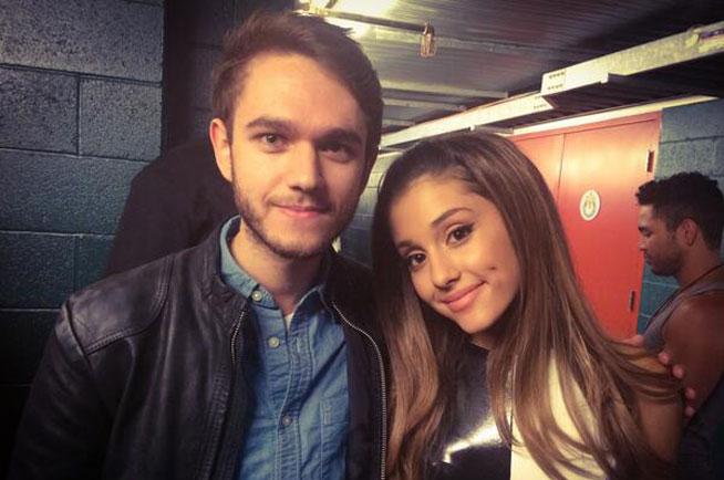 DJ Zedd with Ariana Grande (twitter.com/Zedd)