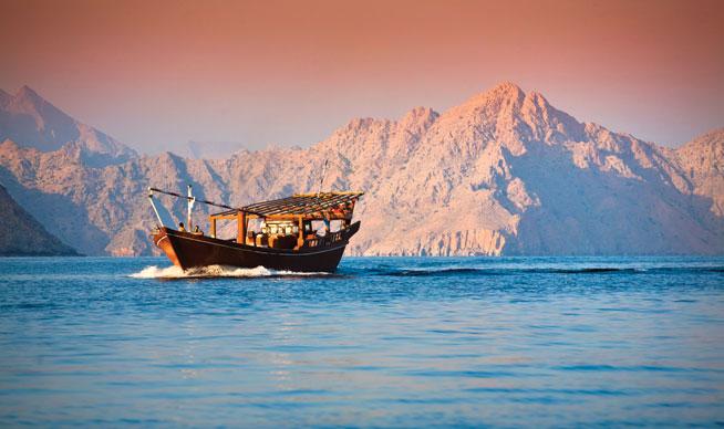 Diving in Oman