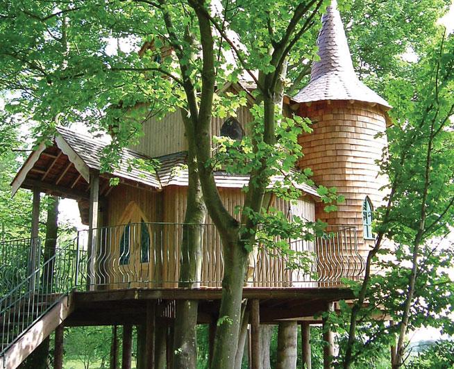 Fife, Scotland - best treehouse holidays