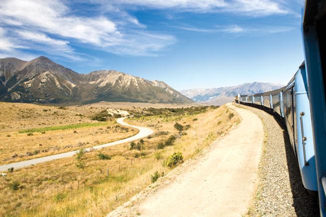 Franz Josef - great rail journeys
