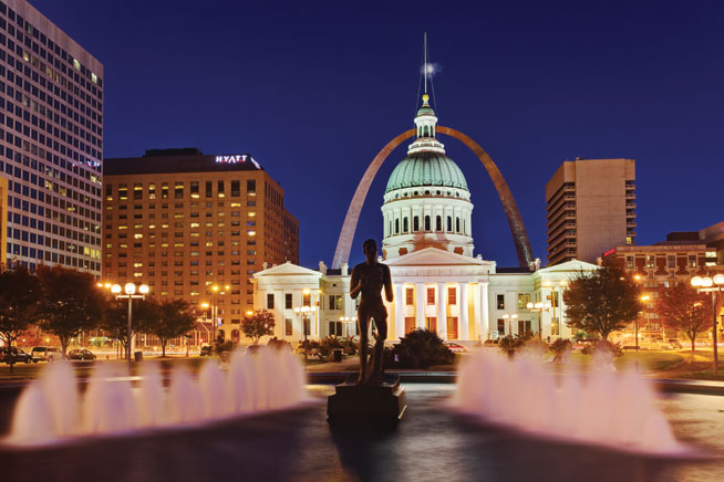 Gateway Arch, St Louis - America's best landmarks