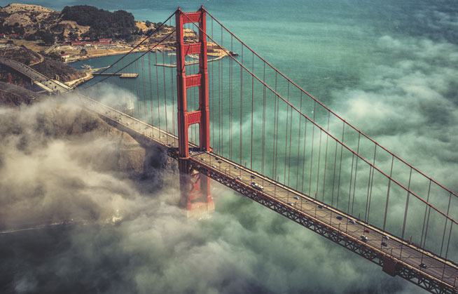Golden Gate Bridge, San Francisco - America's best landmarks