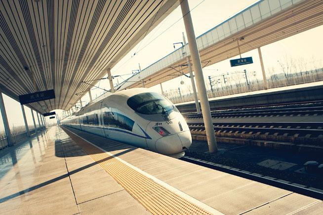High speed train, China - great rail journeys