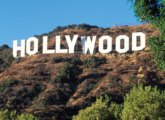 The Hollywood Sign - America's best landmarks