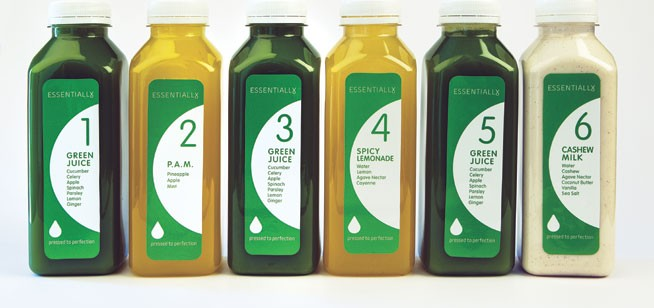 Three-day juice detox diet - Essentially