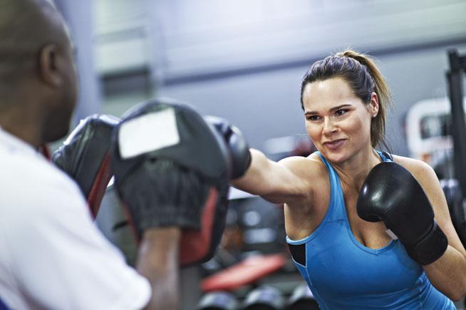 Boxing classes at KO Gym