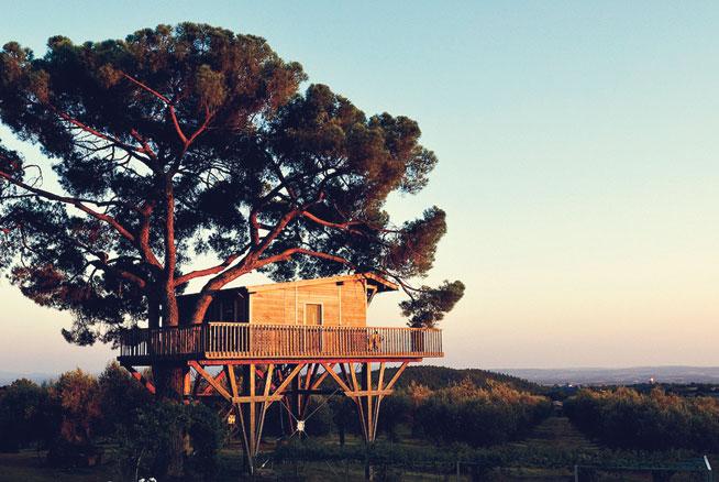 Lazio, Italy - best treehouse holidays