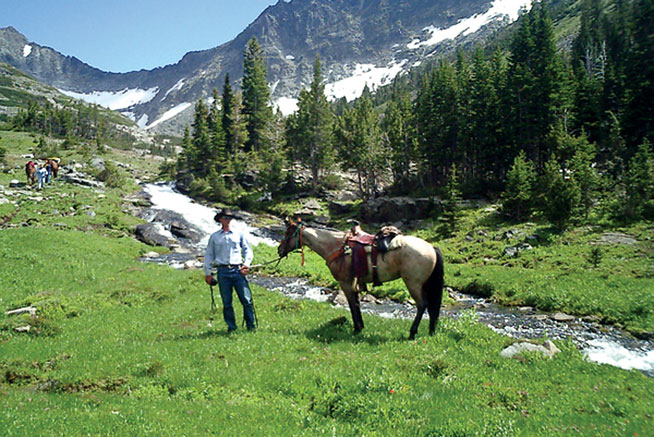Montana - world's best horseriding holidays